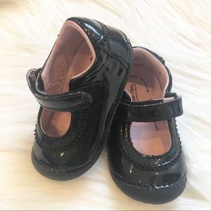 Black Patent Leather Shoes 5W